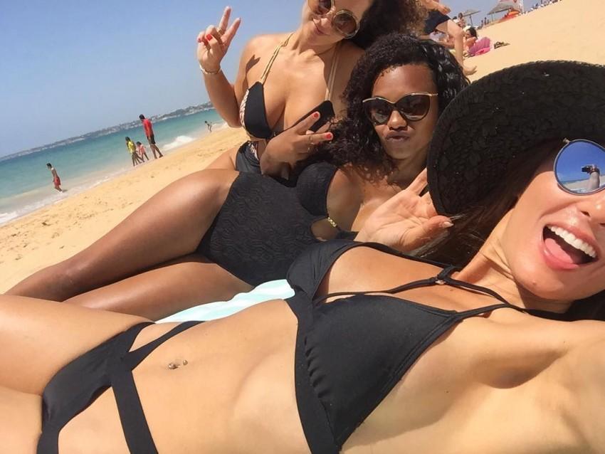 Mulher de Simão Sabrosa arrasa nas redes sociais