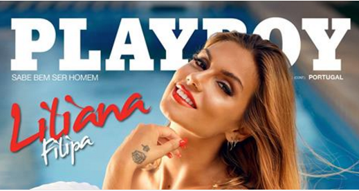 Liliana despe-se na Playboy Portugal