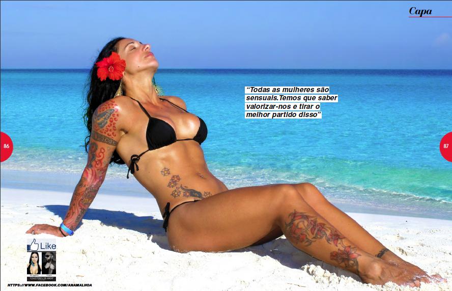 Fotos ana malhoa hot magazine 93