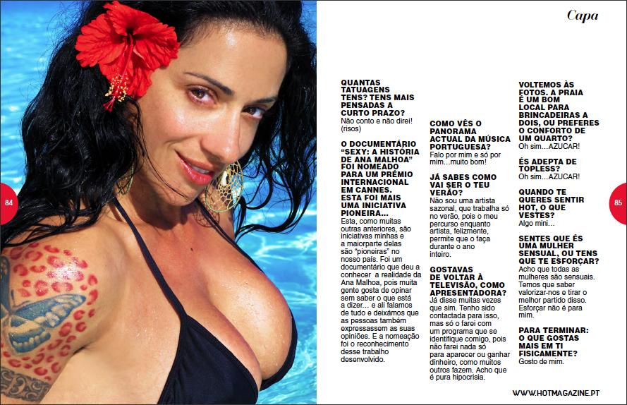Fotos ana malhoa hot magazine 68