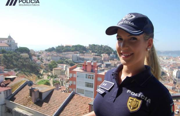 Catarina, a bela e sensual agente que a PSP lançou para a ribalta