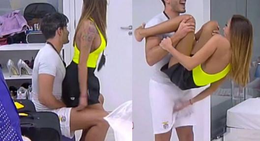 TVI: Érica Silva faz lap dance e mete a mão onde não deve