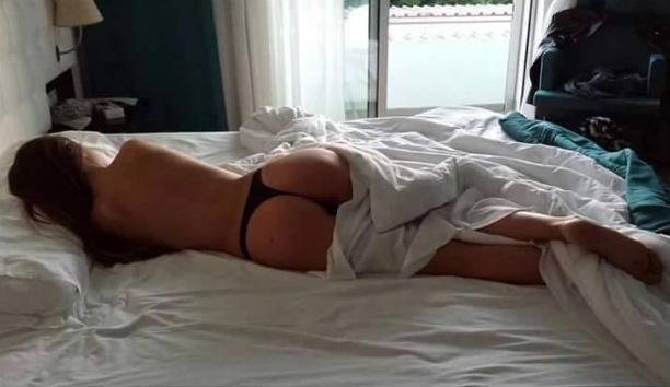 Tuga mostra o corpo nas redes sociais para picar o namorado