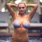 Kate Upton dá valente queda enquanto fotografava em topless