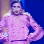 "Sílvia Alberto teve um ""wardrobe malfunction"" que lhe mostrou o peito"