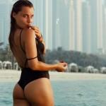 A atriz da TVI Kelly Bailey sonha com o Dubai e vocês sonham com ela (com fotos)