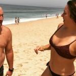 Joana, mulher de Eduardo Madeira, faz topless e recebe elogios (com fotos)